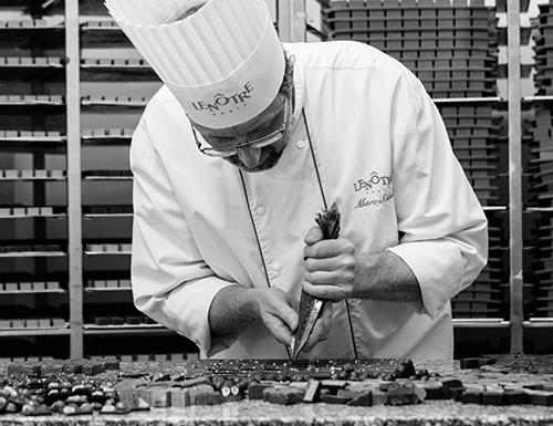 Marc Sibold en préparation